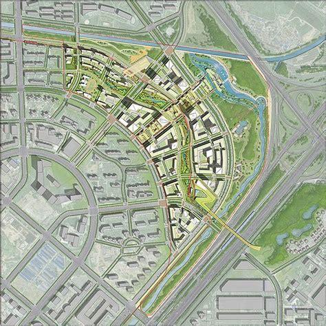 layout plan of panchkula urban complex som beijing dawangjing cbd concept master plan urban