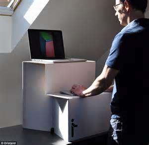 cardboard stand up desk the 25 cardboard box that could transform your