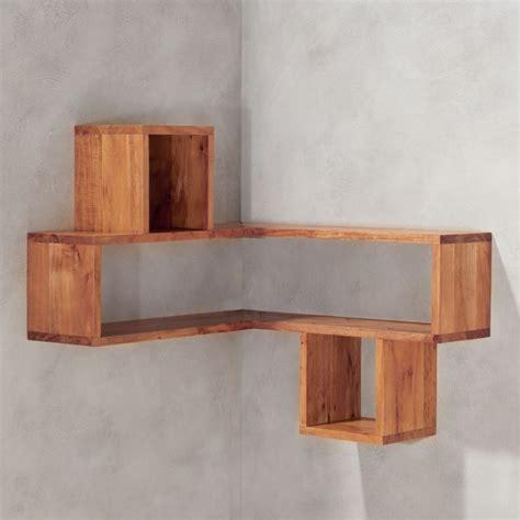 wooden shelves corner block wood shelf reviews cb2