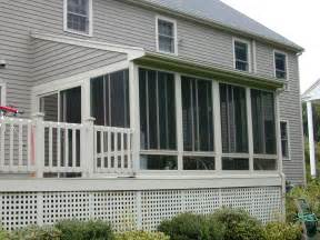 top 5 reasons to enclose a deck create a sunroom