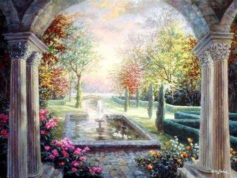 Nicky Boehme Arta Pentru Oameni Simpli In The Garden Wall Mural