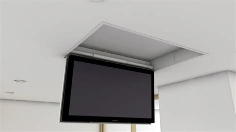 supporto tv soffitto motorizzato tv moving mfc supporto tv motorizzato da soffitto per tv