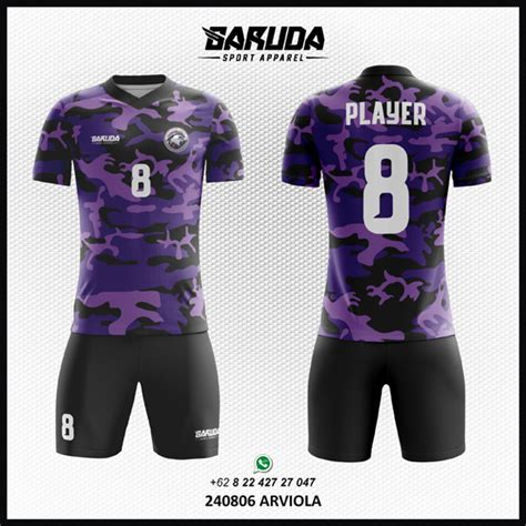 desain kaos futsal 2017 jasa pembuatan desain kaos futsal warna ungu garuda