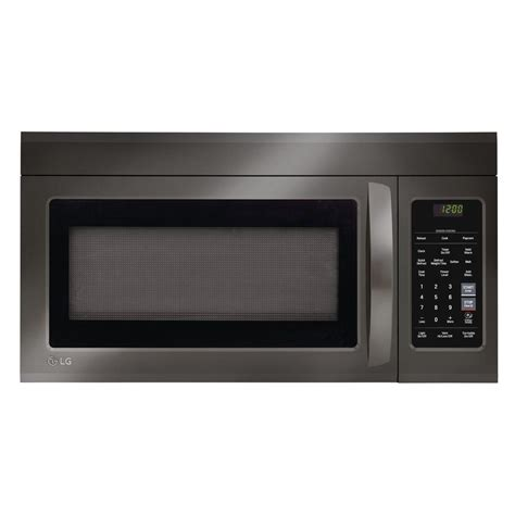 lg electronics 1 8 cu ft the range microwave in