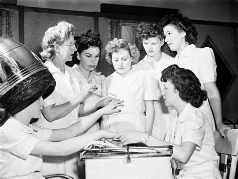 hair dresser s day file ex servicewomen learning manicure techniques jpg