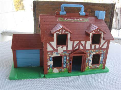 fisher price doll house vintage tudor doll house little people fisher price
