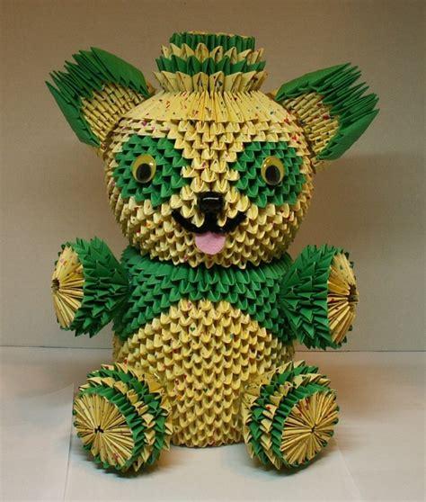 teddy bear album heidi lenney 3d origami
