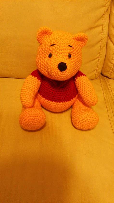 amigurumi pattern winnie the pooh amigurumi winnie the pooh free crochet pattern