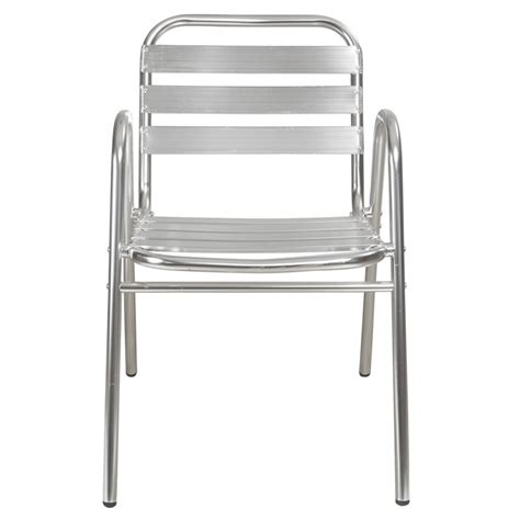 Chaises Alu by Chaise Terrasse Aluminium Mobilier Restaurant Mobeventpro