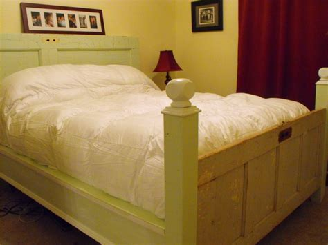 Headboards Made Out Of Doors by Made Out Of Two Doors As Headboard And Footboard Headboard Headboard