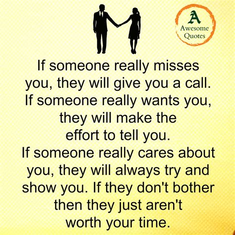Someone Really by Awesome Quotes When Someone Really Cares About You