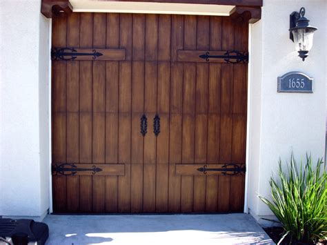 Garage Door Faux Wood Faux Garage Doors