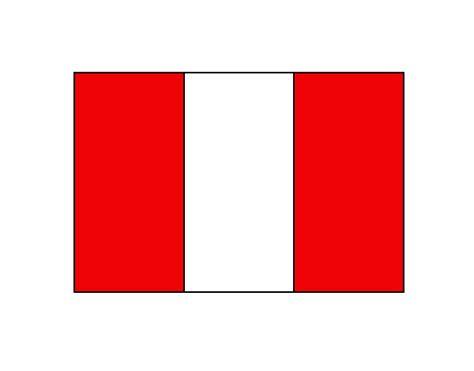 bandera de peru coloring pages dibujo de per 250 1 pintado por valemass en dibujos net el