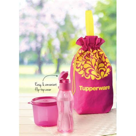 Harga Snack by Tupperware Malaysia Snack On The Go Lunch Set Update