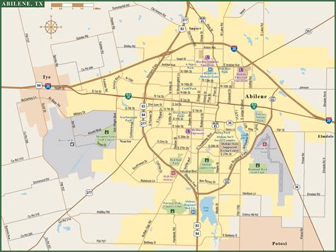 augusta metro map digital vector creative force abilene metro map digital vector creative force