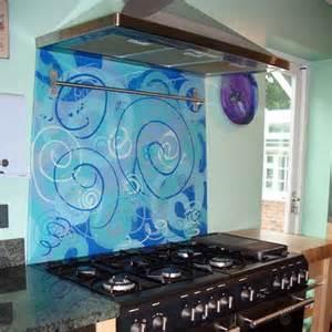 funky kitchens ideas glass splashback designs from funky splashbacks