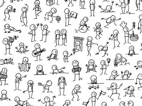 how to draw a doodle person best 25 doodle ideas on animation