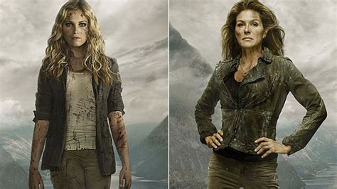 a clarke abby reunion is a long time coming on the 100