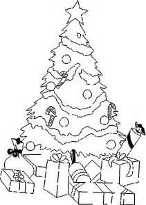 cultura infantil 193 rbol de navidad para colorear