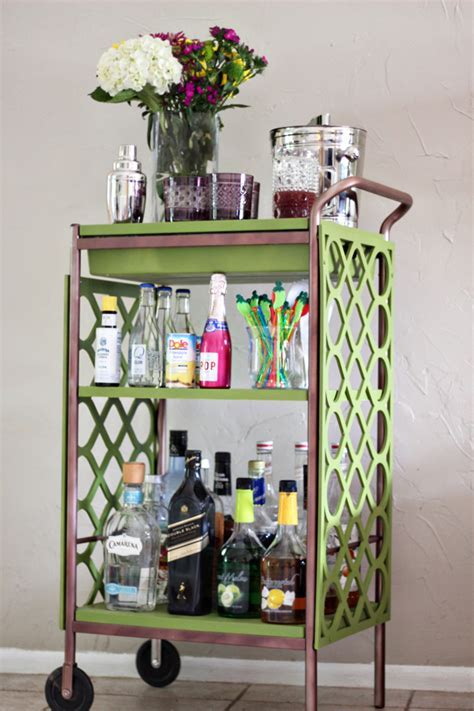 Bar Cart DIY   The Flair Exchange®The Flair Exchange®
