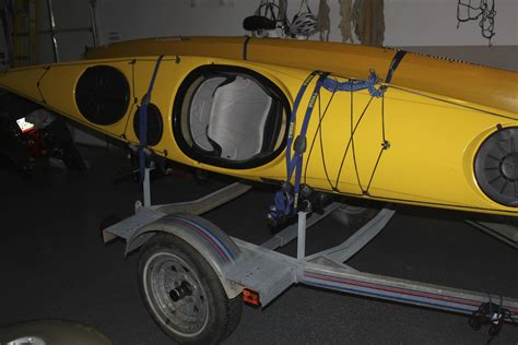 old boat equipment converted old boat trailer to kayak trailer k a class