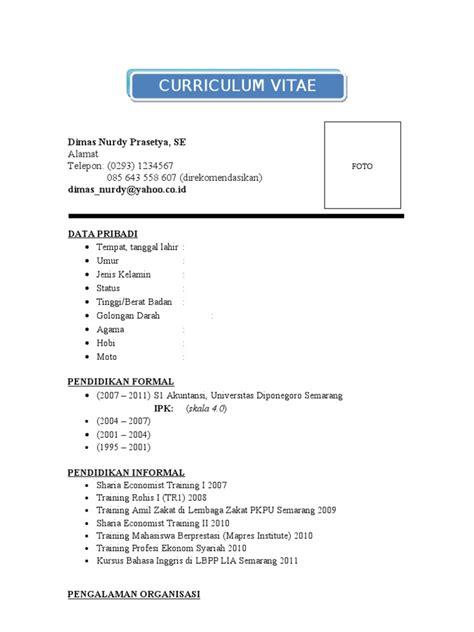 contoh format daftar hadir mahasiswa ppl form kosong cv