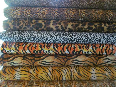 leopard spots animal print jungle brown fleece fabric animal print fabric leopard tiger cheetah skin prints