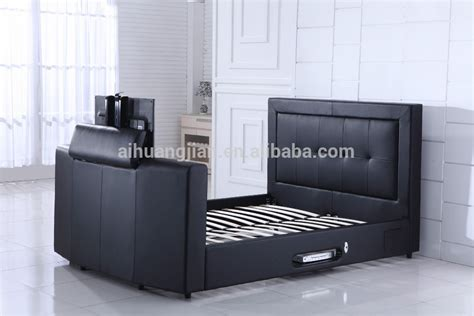 tv beds frame bed with tv in footboard cheap price tv bed