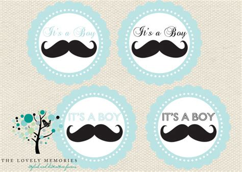 printable mustache gift tags items similar to mustache baby shower teal favor tags diy