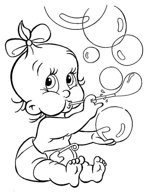 Baby Coloring Pictures