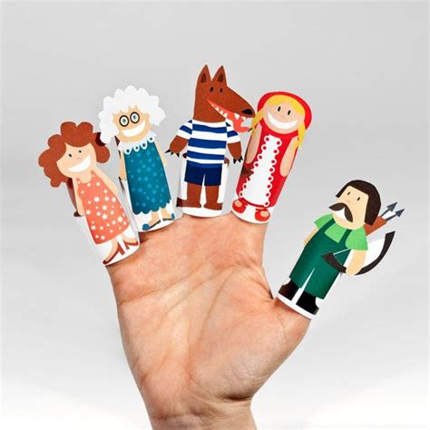 paper finger puppets printable