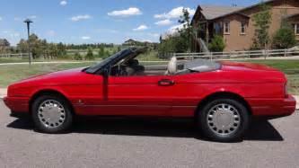 1993 Cadillac Allante Parts 1993 Cadillac Allante For Sale 1964859 Hemmings Motor News