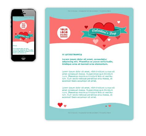 free valentine s day email templates wired marketing