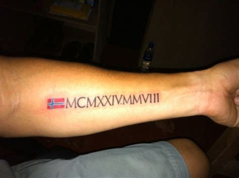 roman numeral fonts for tattoos design for picture ideas