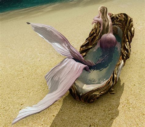 Mermaid Bathtub by Archeage Fashion Mermaid Bathtub
