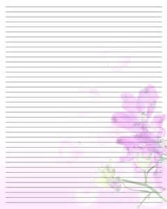 Printable Valentine Writing Paper 9 Best Images Of Valentine Writing Paper Printable