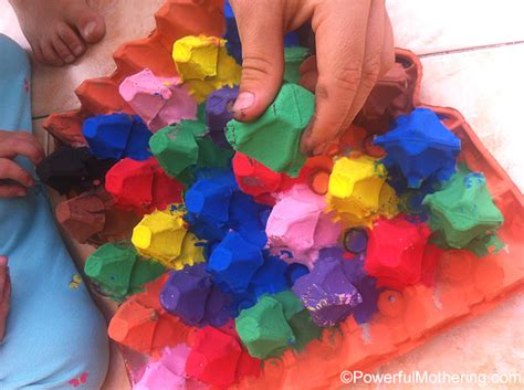 color craft for egg crafts a color sort activity