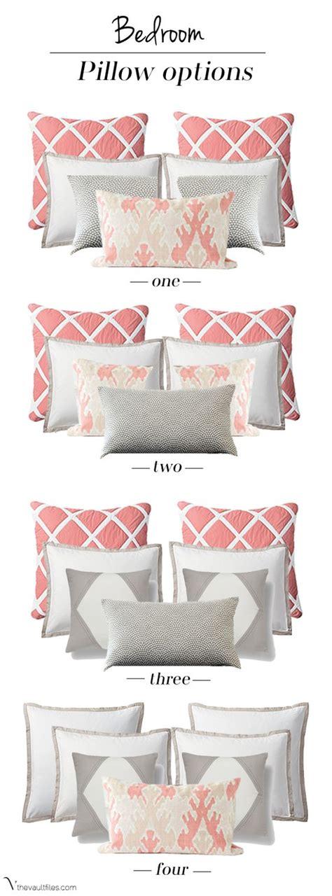 bed pillow arrangement ideas pillows bedrooms and accent pillows on pinterest