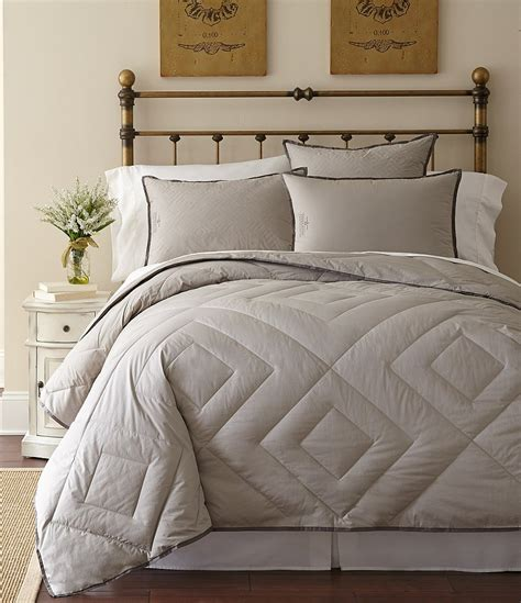 quilted down comforter pendleton primaloft vintage diamond quilted 300 thread