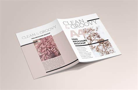 brochure mockup template free psd bi fold mockup template vol2 rar