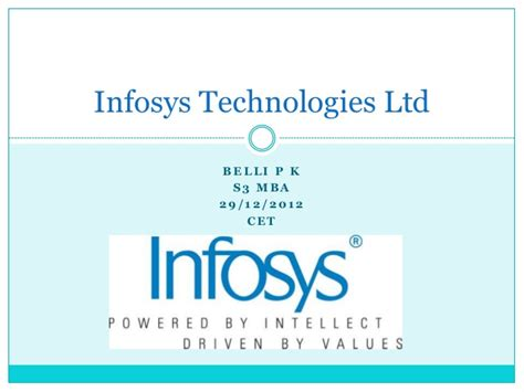 Infosys Consulting Mba Salary by Infosys