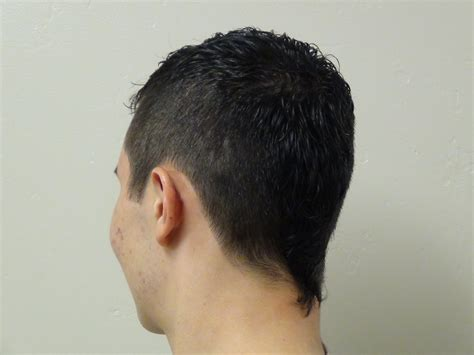 Boys Short Haircut with Tail Hairstyle   Boys and (Girls
