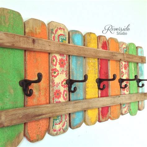 best 25 rustic coat rack ideas on pallet