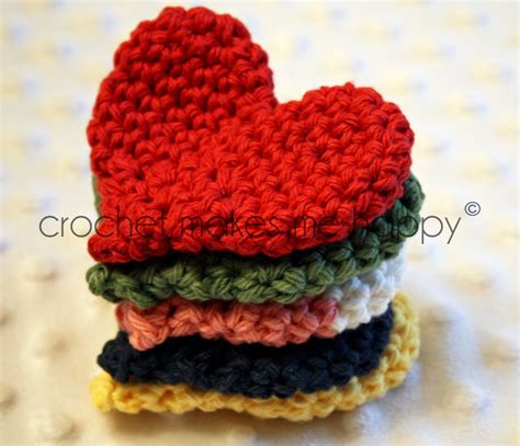 heart pattern in crochet crochet makes me happy crochet pattern the heart