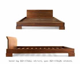 kobe platform bed tansu asian furniture boutique tansu net
