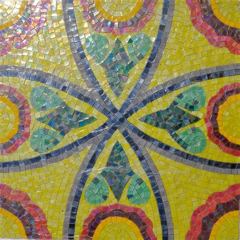 mosaic pattern leaves ice crackle glass mosaic tile gold leaf glass mosaic tile