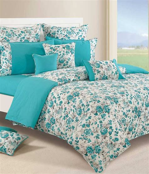 Discount Duvets Swayam Shades Of Paradise Turquoise Duvet Cover Buy