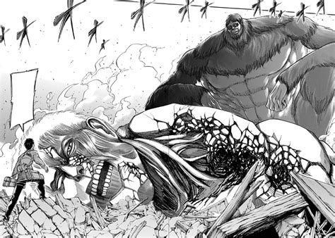 who is the beast titan image reiner loses to the beast titan png attack on