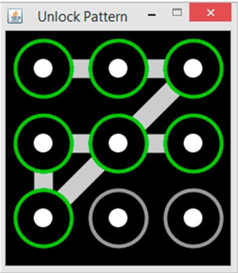 java pattern unlock crea patr 243 n de desbloqueo para tus app java jc mouse net
