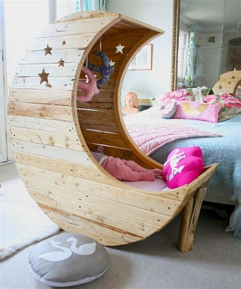 Diy Moon Shaped Cradle 1 - tyual bed woodworking plans baby crib learn how